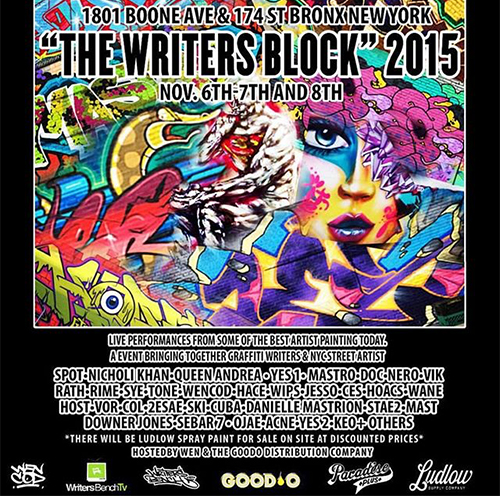 Writers Block Flyer