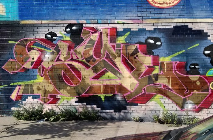 Boone Ave Walls 2017